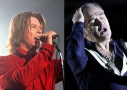 "Escucha ""Cosmic Dancer"", cover de T-Rex interpretado por Morrissey y David Bowie"